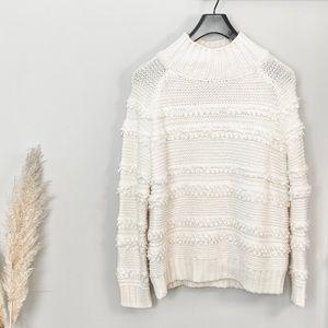 Magaschoni • Chunky Knit Cream Sweater